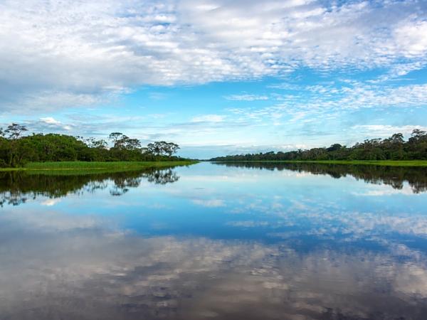 Fleuve brésil Amazonie