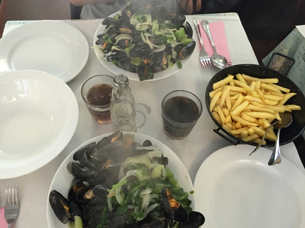 Moules Frites Kombius Ostende