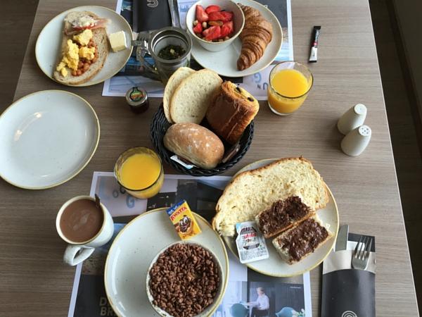Petit déjeuner Andromeda Ostende