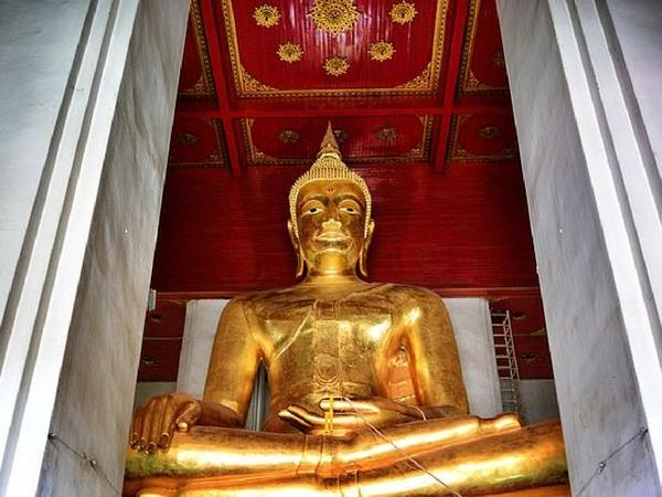 Phra Mongkhon Bophit bouddha de bronze visiter Ayutthaya