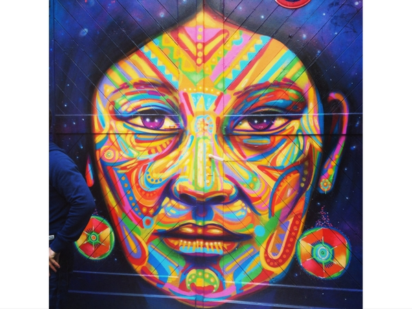 Street Art Berlin Europe Femme