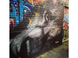 Street Art Gant Europe loup