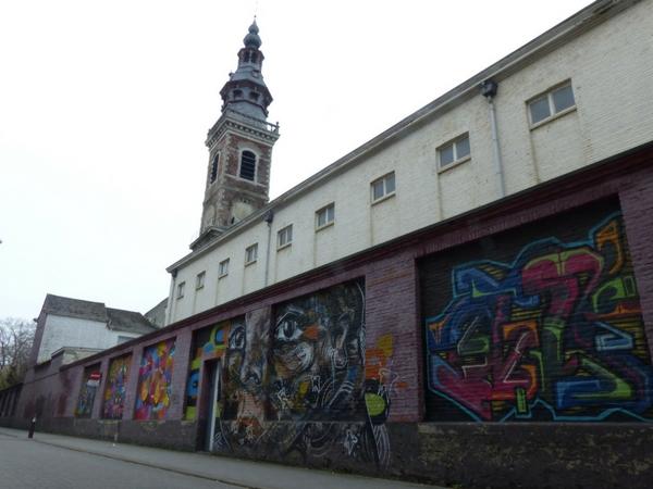 Street Art Gant Europe rue dédiée
