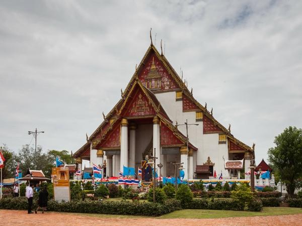 Temple Phra Mongkhon Bophit visiter Ayutthaya