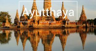 Visiter Ayutthaya en une journée