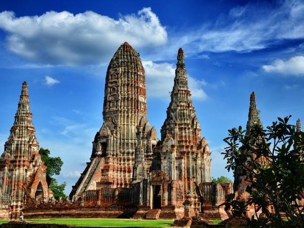Wat Chaiwatthanaram temples visiter Ayutthaya