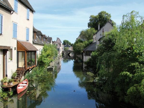 Chartres ville canaux - Découvrir Chartres