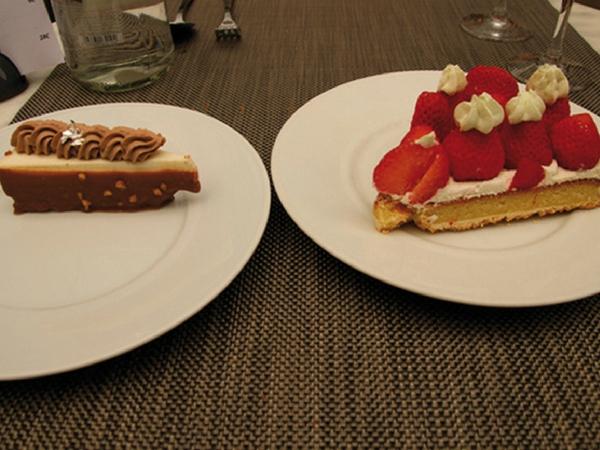Dessert la Cour Chartres - manger à Chartres
