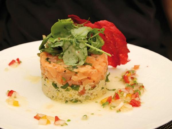 La cour Chartres restaurant entree - manger à Chartres