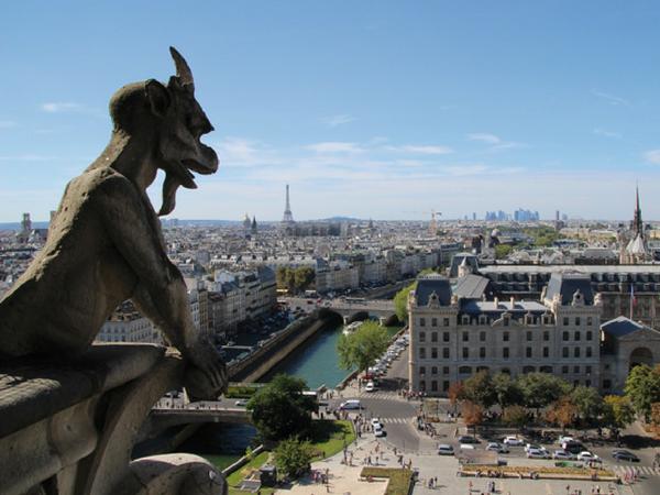 gargouille-notre-dame-paris week-end à Paris