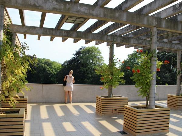terrasse de la villa cavrois