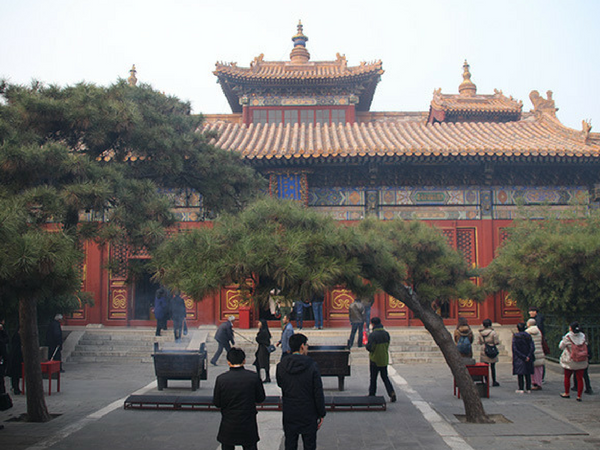 temple-des-lamas-pekin Visiter Pekin