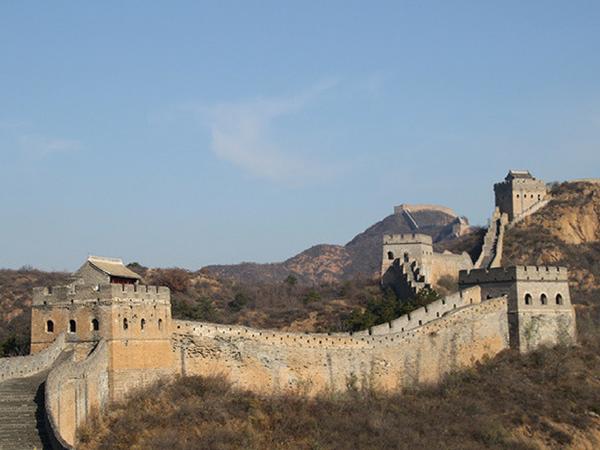 muraille-de-chine-pres-de-pekin muraille de Chine