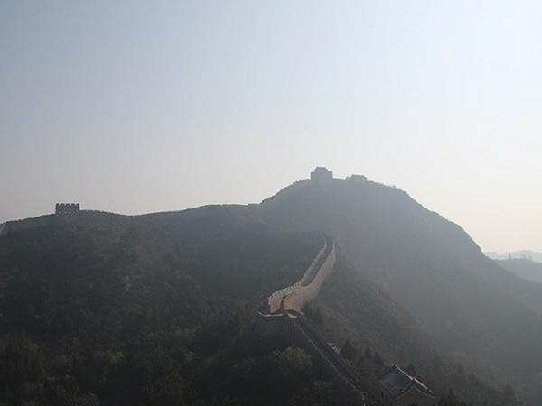 vue-sur-la-muraille-de-chine muraille de Chine