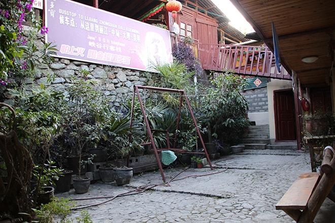 Jane guesthouse au départ Trek des Gorges du Saut du Tigre Yunnan Chine