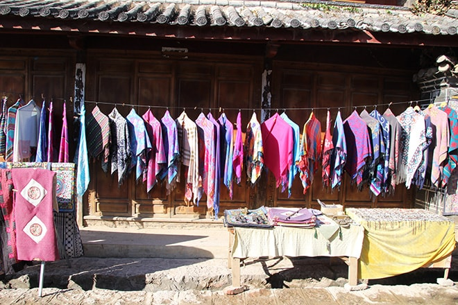 Magasin Baisha Yunnan Chine