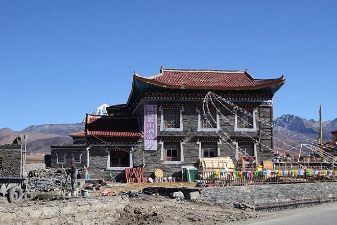 Maison Tagong Sichuan Chine