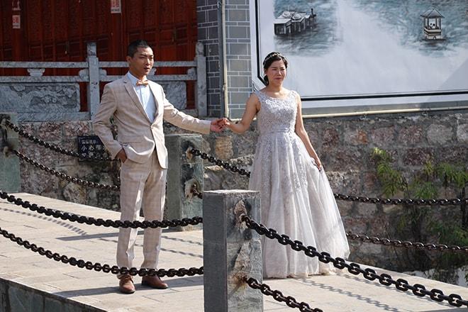 Mariés Shuhe Yunnan Chine