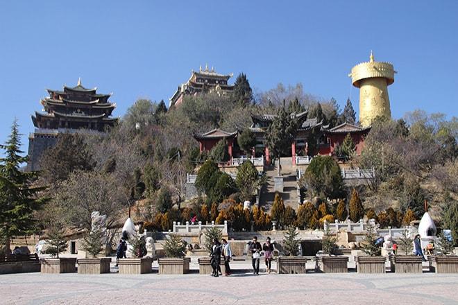 Moulin a prieres Shangri-la Yunnan Chine