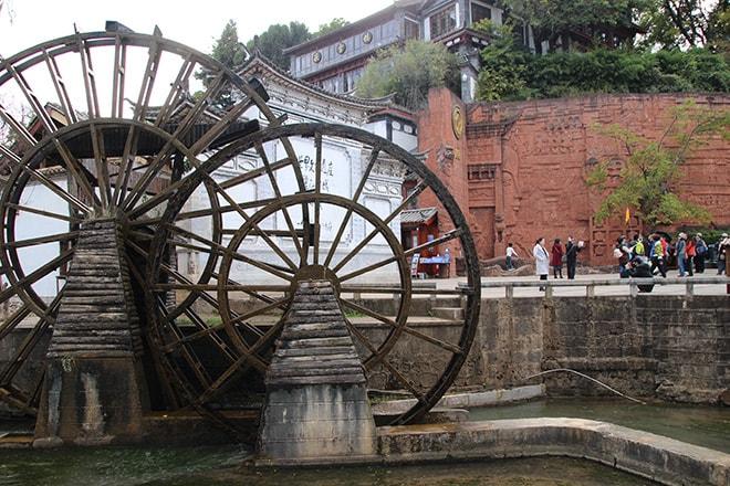 Moulins Lijiang Yunnan Chine