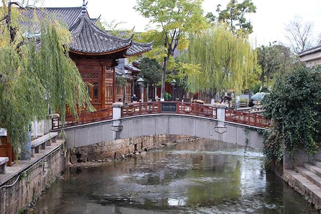 Pont Lijiang Yunnan Chine