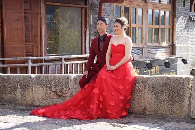 Pont des mariés Shuhe Yunnan Chine