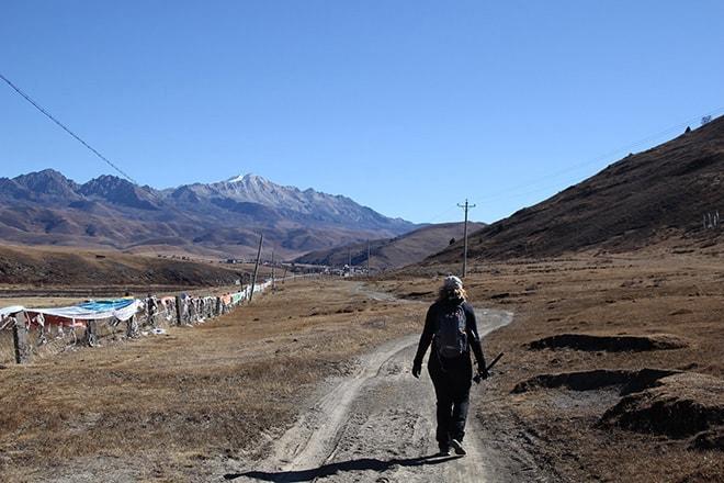 Randonnée Tagong Sichuan Chine