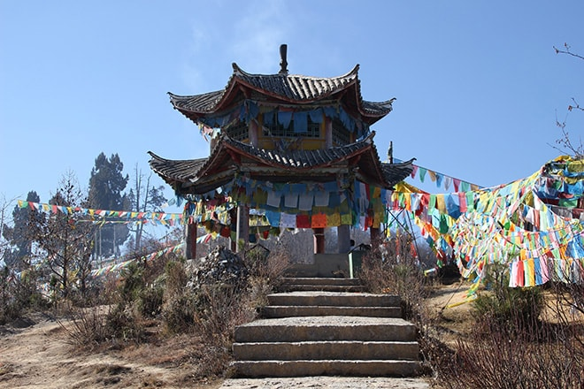 Shangri-la Yunnan Chine Temple
