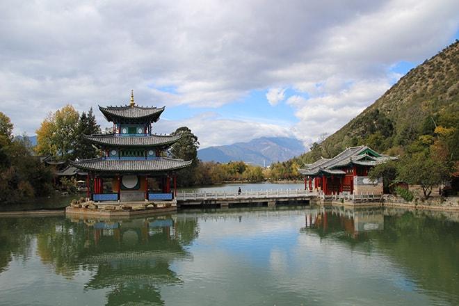 Temple Lijiang Yunnan Chine