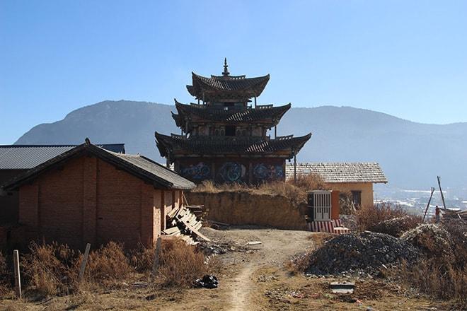 Temple Shangri-la Yunnan Chine