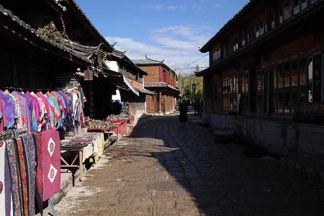 Ville de Baisha Yunnan Chine