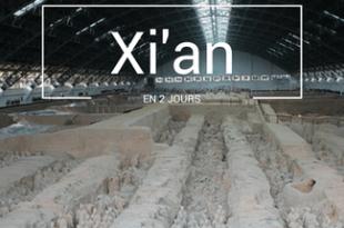 Xian en 2 jours
