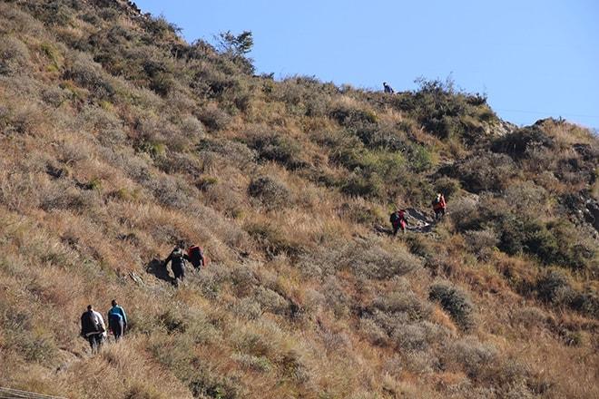 difficulte Trek des Gorges du Saut du Tigre Yunnan Chine