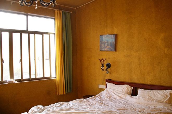 Chambre colorée Yangshuo Chine