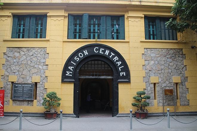 Maison centrale prison Hanoi Vietnam