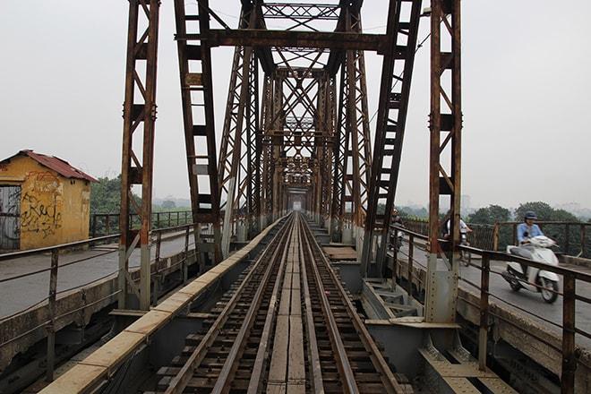 Perspective pont Hanoi Vietnam