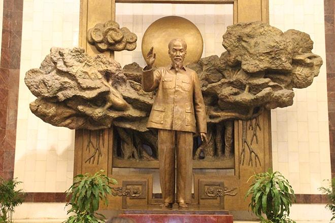 Statue Ho Chi Minh Hanoi Vietnam