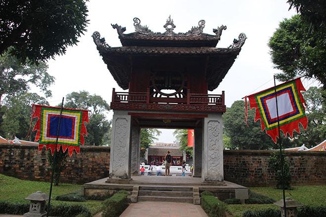 Temple Litterature Hanoi Vietnam
