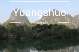 Yangshuo et ses pics karstiques