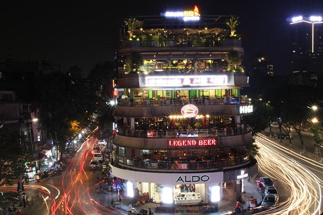 nuit Hanoi Vietnam
