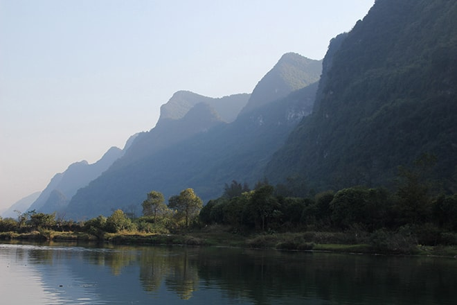 paysages Yangshuo Chine