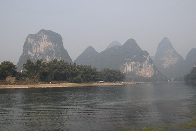 paysages karstiques Chine