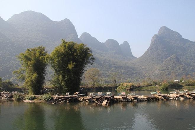 pics karstiques Yangshuo Chine
