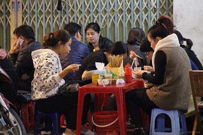 street food Hanoi Vietnam