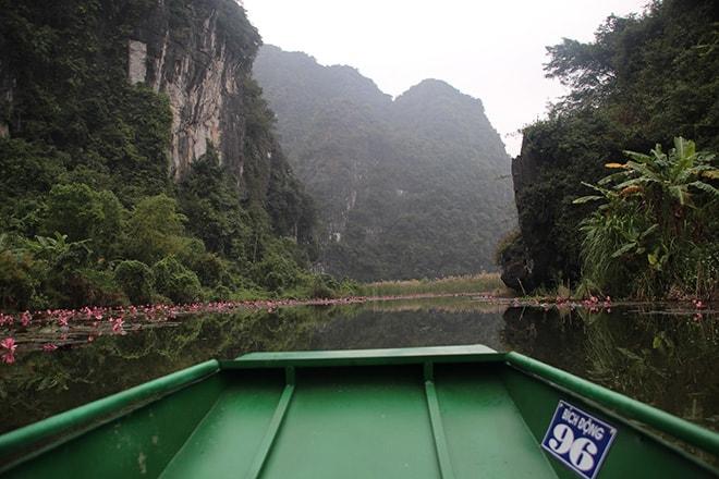 Barque Tam Coc Vietnam