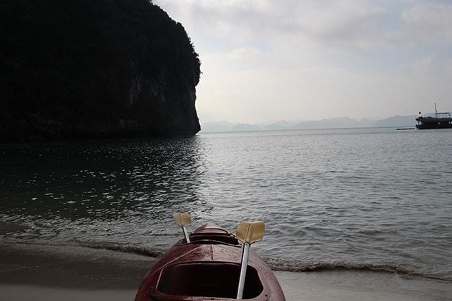 KAYAK Cat Ba Baie d'Halong Vietnam