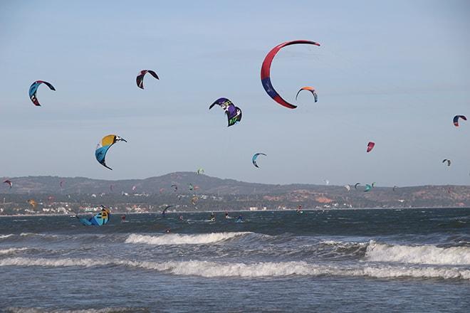 Kite surf plages Mui Né