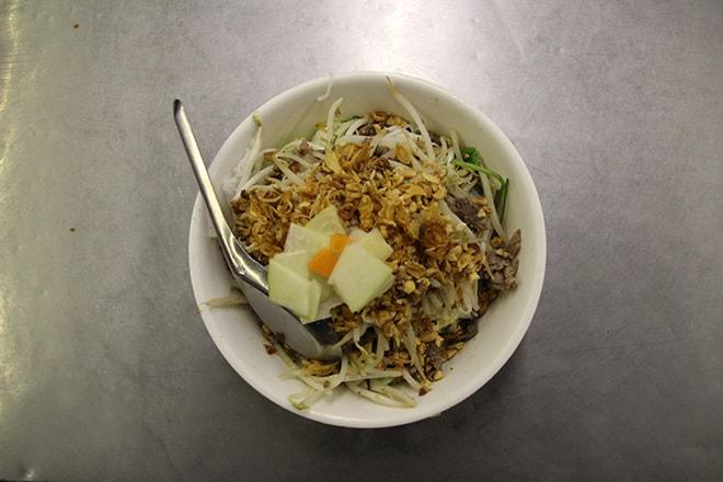 Manger à Hanoi Bun Bo
