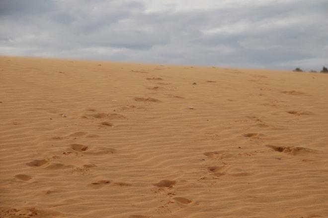 Pas dunes rouges Mui Né
