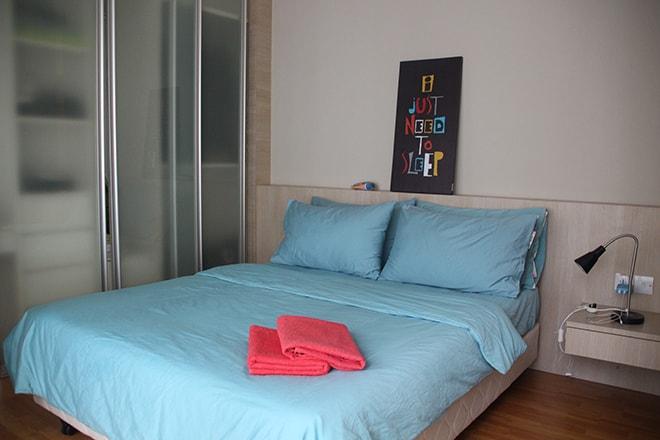 Appartement Kuala Lumpur chambre-min